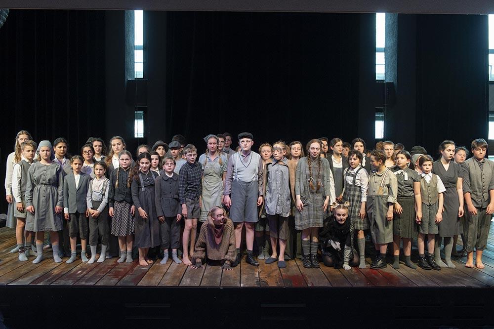 Brundibár – Kinderoper im Foyer der Oper Bonn
