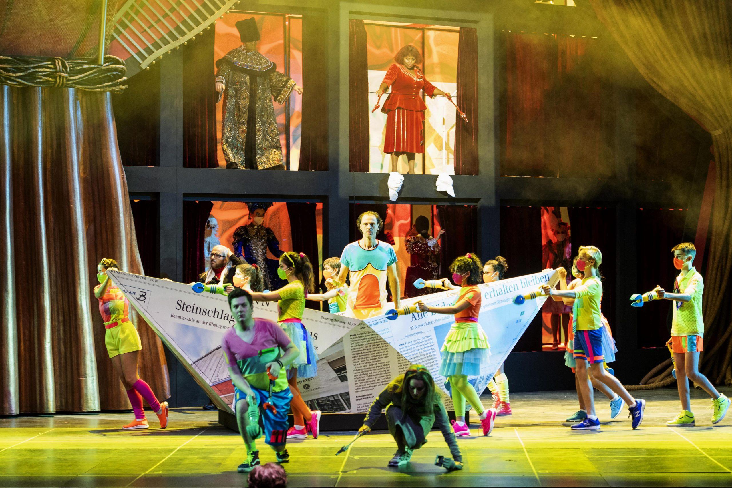 Staatstheater – Premiere in Corona-Zeiten